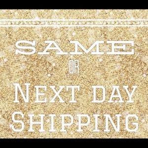 Same or next day shipping!!!